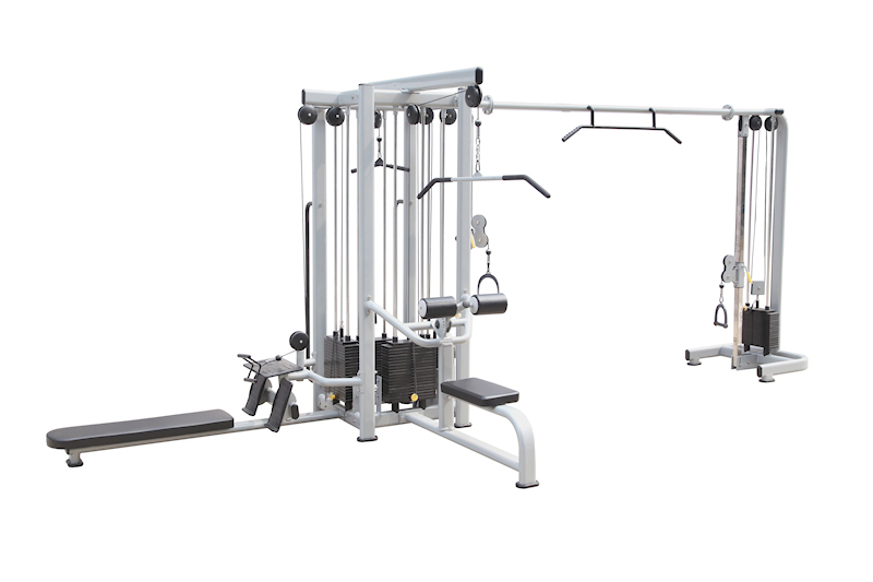 FC5 5 Station Multigym + Cable Crossover Commercial