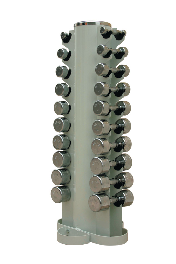 Dumbbell Tower Rack To Suit Hex or Chrome Dumbbells