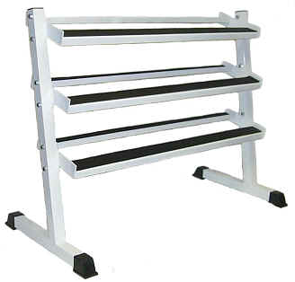 Dumbbell Rack 3 Tier Light Commercial