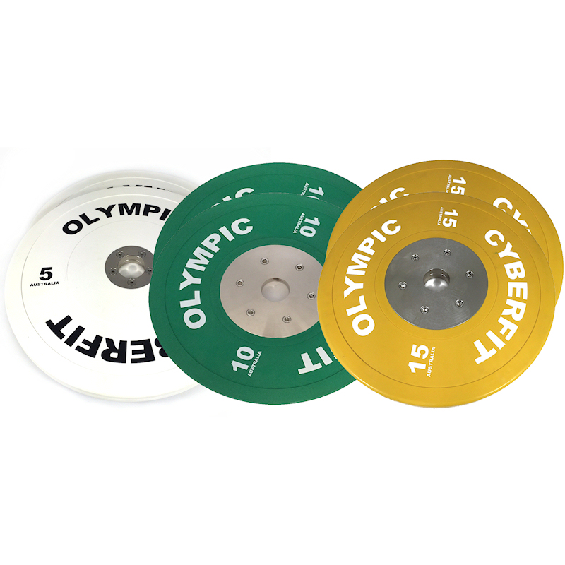 Olympic Bumper Plates Set 60kg ELITE Bumpers