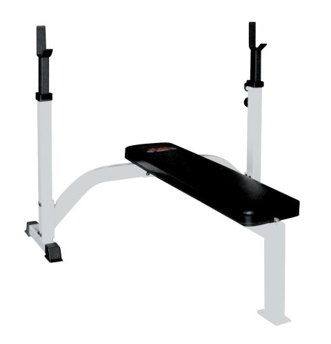 York FTS Barbell Fixed Flat Olympic Bench