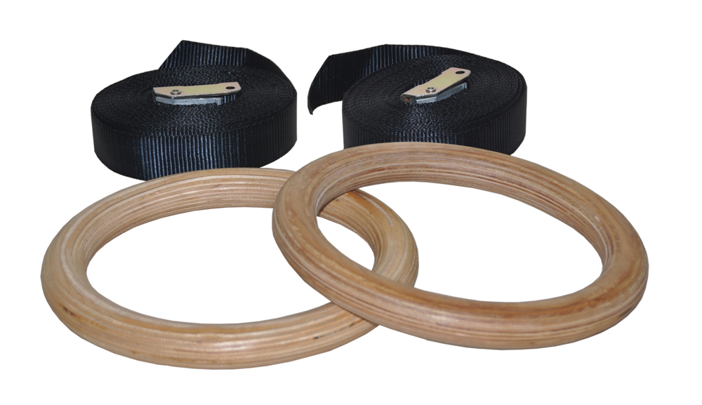 Gym Rings Wood