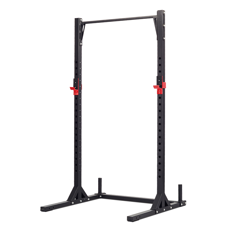 Half Rack with Chinup Bar