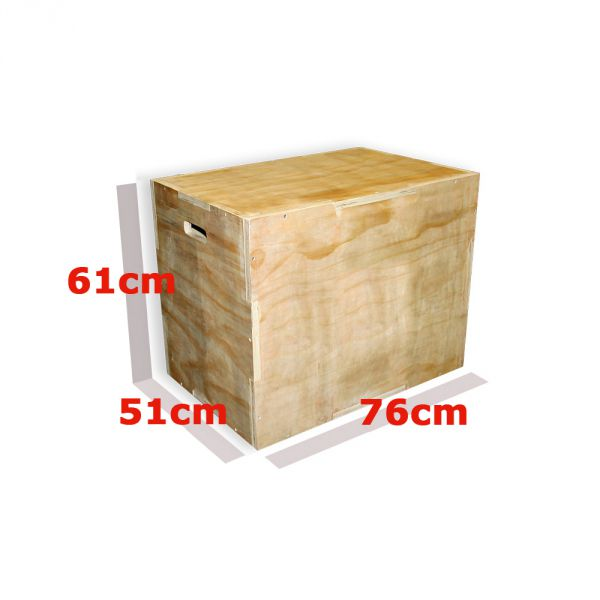 Plyo Box Wooden 3 Sided