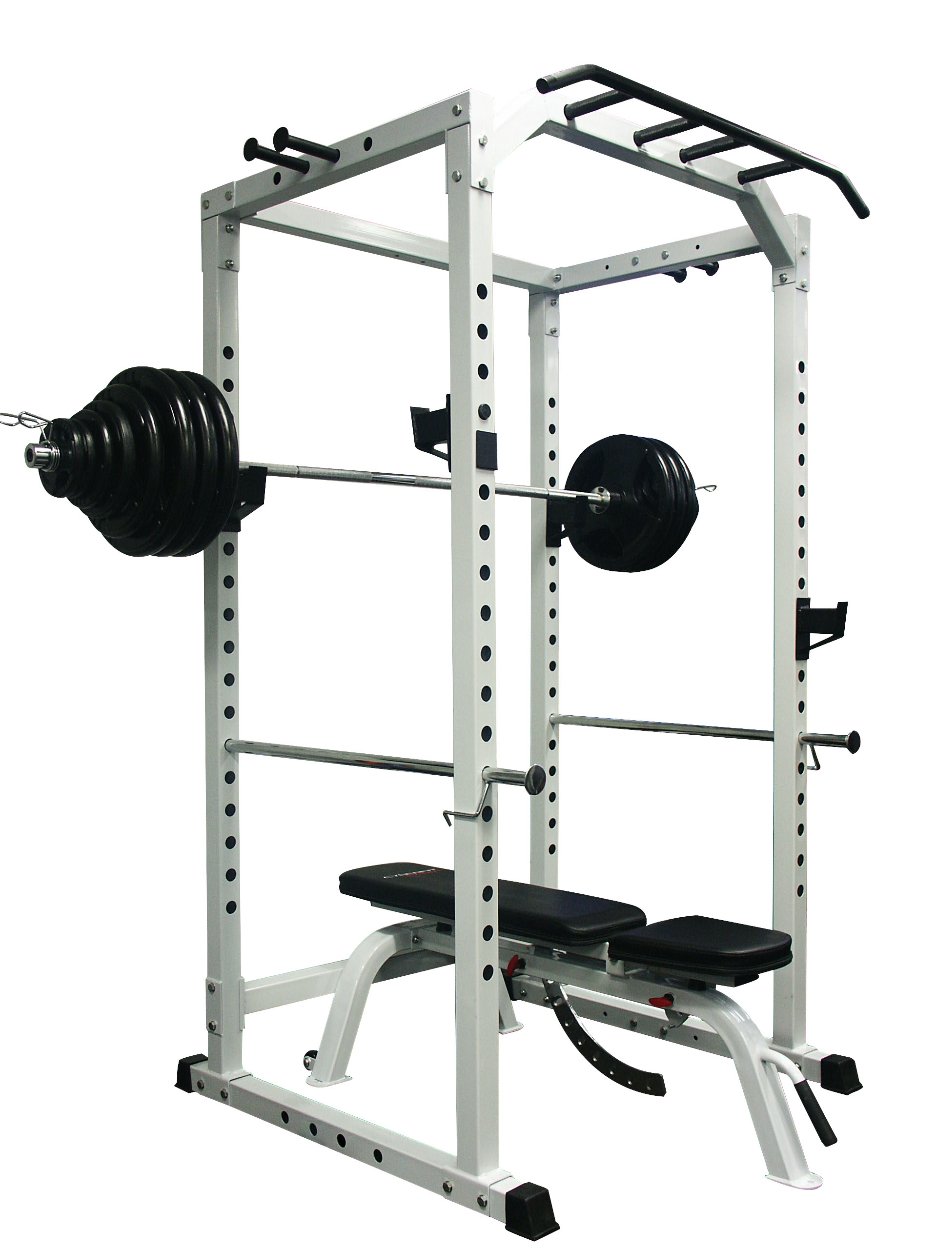 Power Rack Package 180KG Olympic Weight Set Adjustable