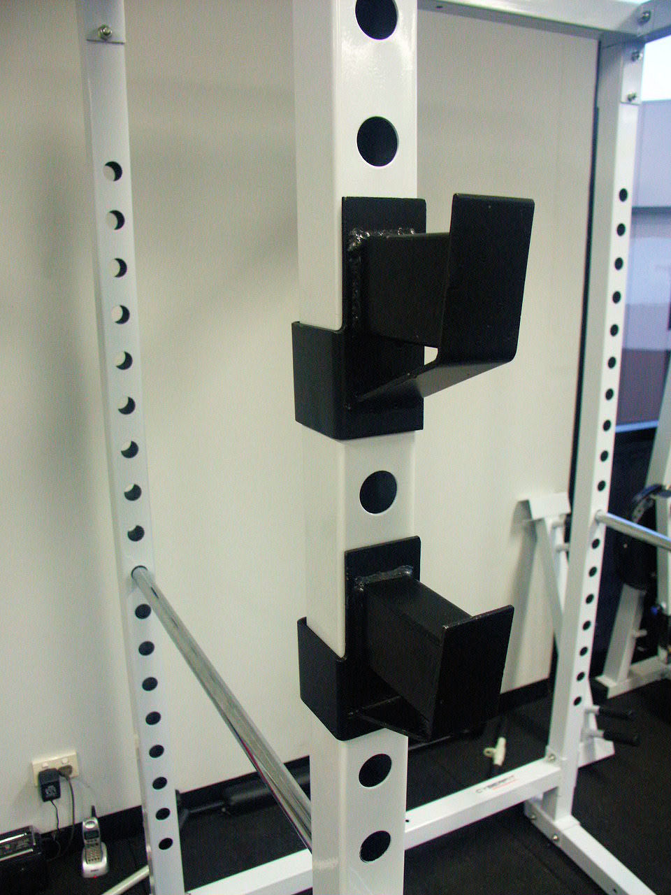 CYBERFIT LC2 Power Rack J Hooks