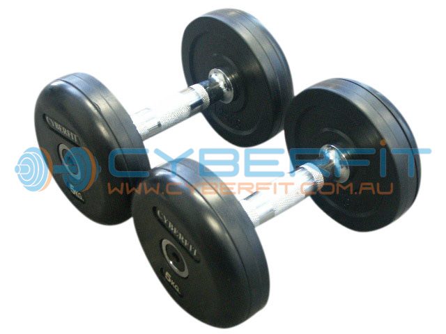 Dumbbell Set 5-30kg Commercial Round Rubber Dumbbells