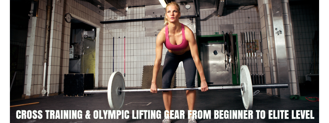 Crossfit Equipment Sliding Banner