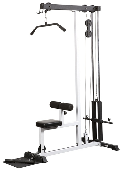 York FTS Lat pulldown row machine