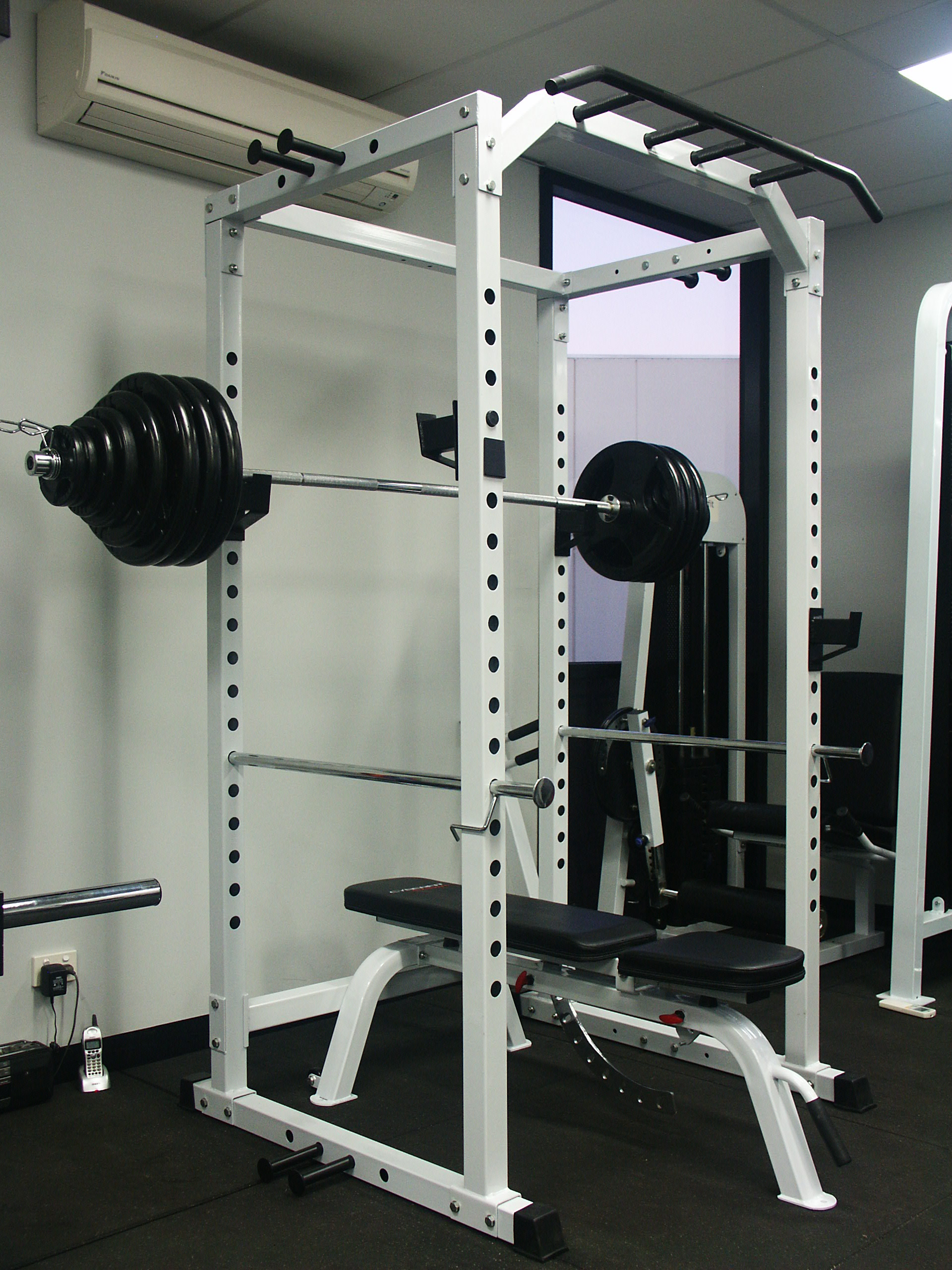 Using The Power Rack Cage I Sticking Points Afitgo