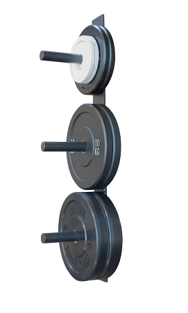 Wall Mount Bumper plate Rack