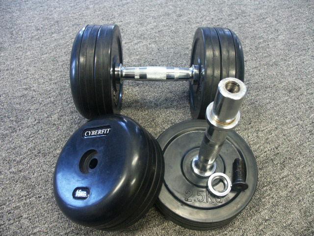 rubber-dumbbells-set