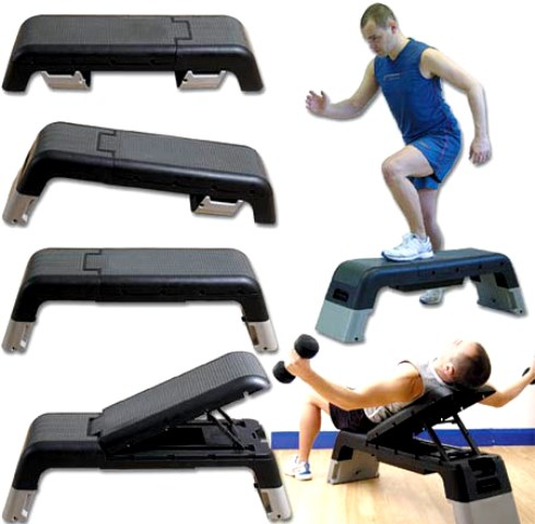 Multi Workout Stepper Bench