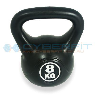 PVC Coated Kettlebell 8KG