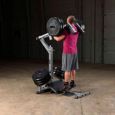 BodySolid Leverage Squat Calf Raise Machine