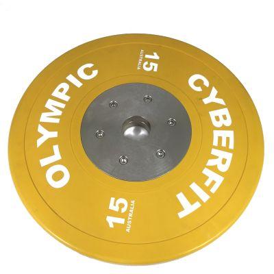 Elite 15kg Olympic Bumper Plates