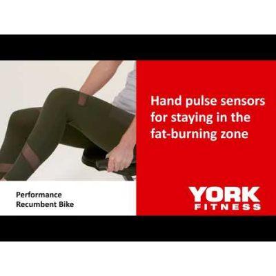 York Fitness Performance Recumbent Bike