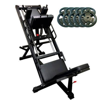 Leg-press-hack-squat-machine