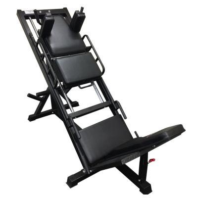 Leg Press Machine Plus Hack Squat with 200kg Cast Plates