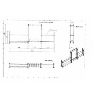 Multi Storage System Rack V2