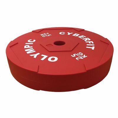 2.5kg Technique Bumper Plate Impact Resistant Single Plate